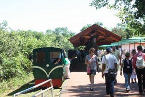 Estação de embarque do trem verde (tren ecológico de la selva)