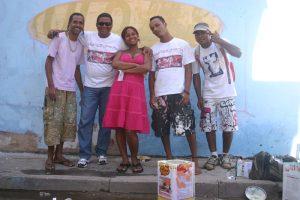 (E) Black, Paranaguá, Mônica, Pinel e Zumbi