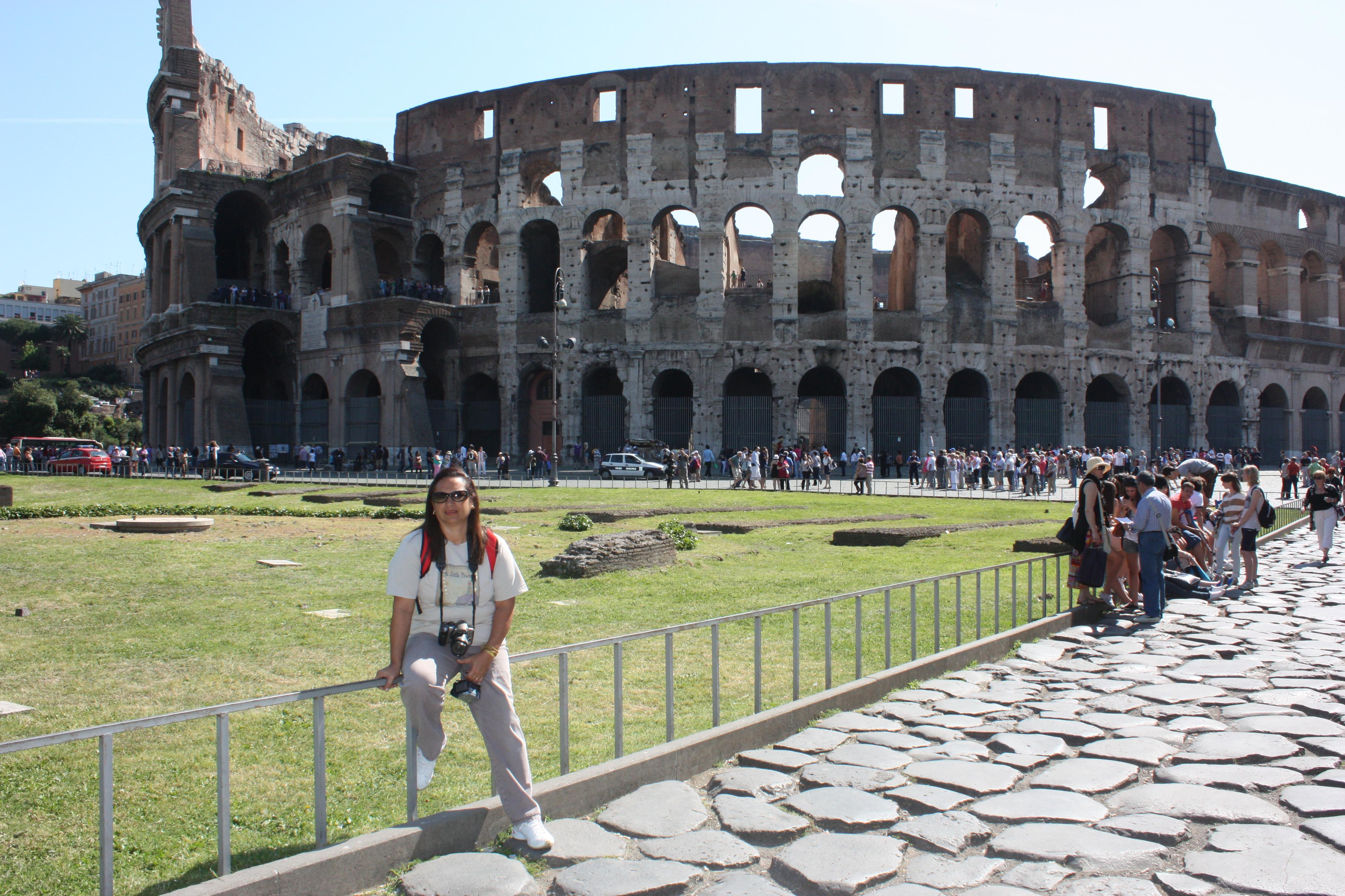 Coliseu: um dos locais mais visitados pelos turistas