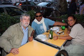 Pizzaria Ai Miami: (E) Pietro Gallina, Paranaguá e Shirley...