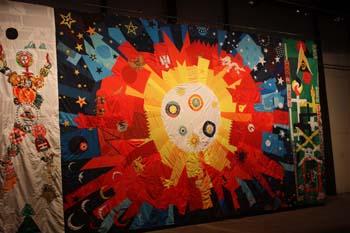Uma das obras expostas na 8 Bienal, no Armazem das Docas