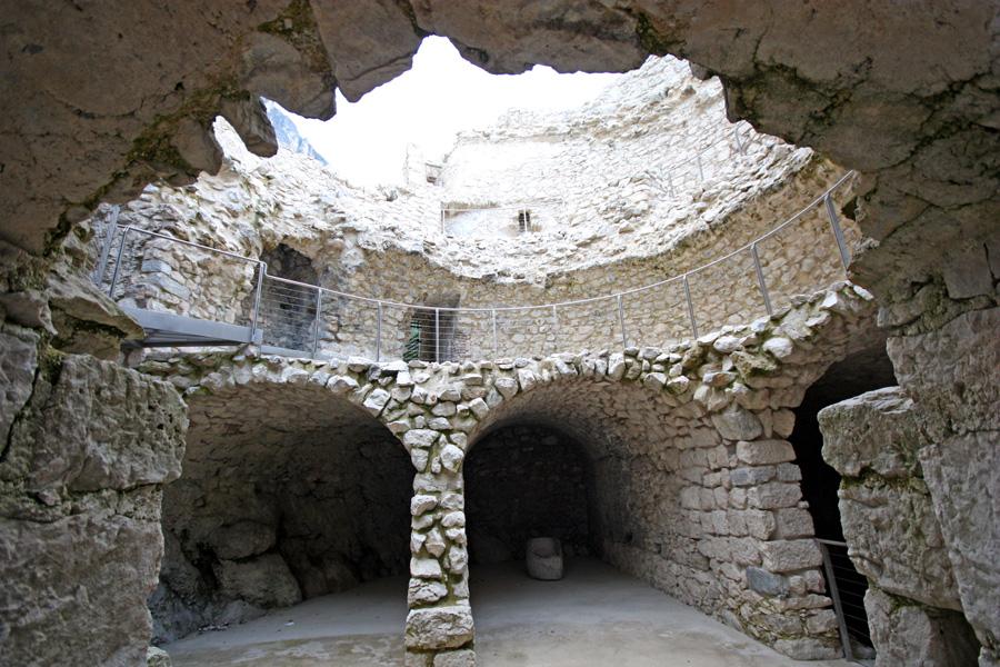 Detalhe do interior do Bastione (antiga fortaleza militar)