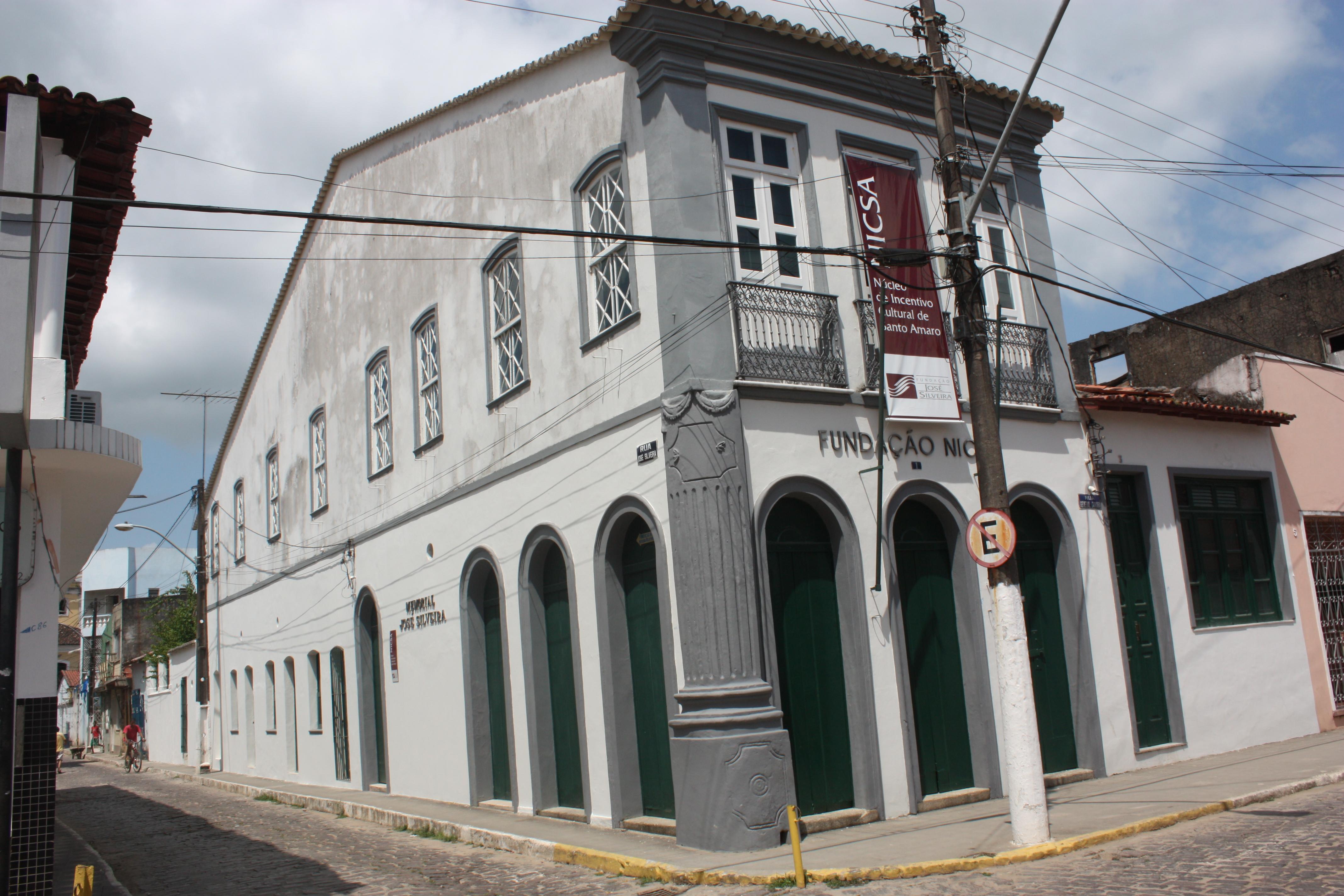 Prédio da Fundação José Silveira
