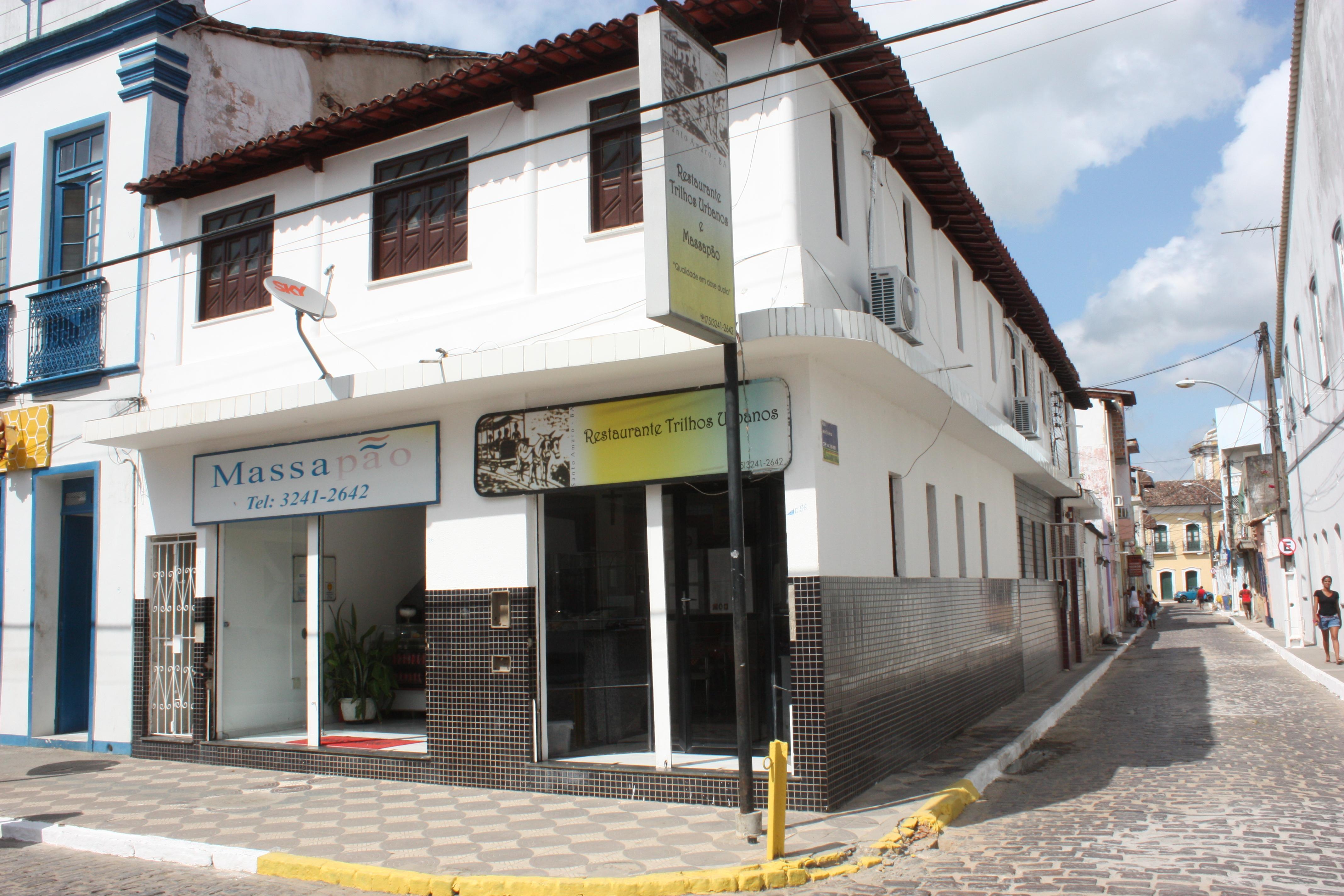 Restaurante Trilhos Urbanos: nome do estabelecimento resgate fato histórico