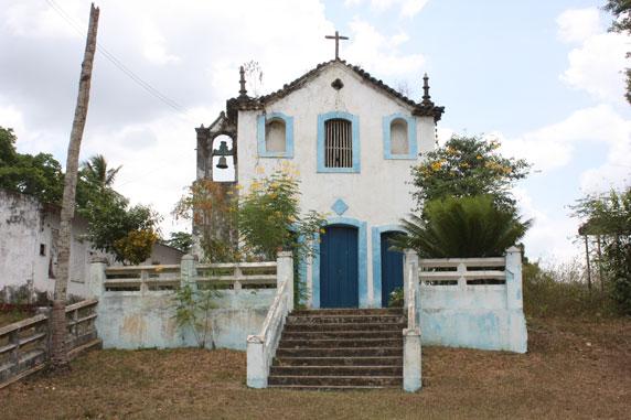 Fachada da capela de Iguape