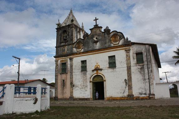 Fachada da igreja da Vila de Belém