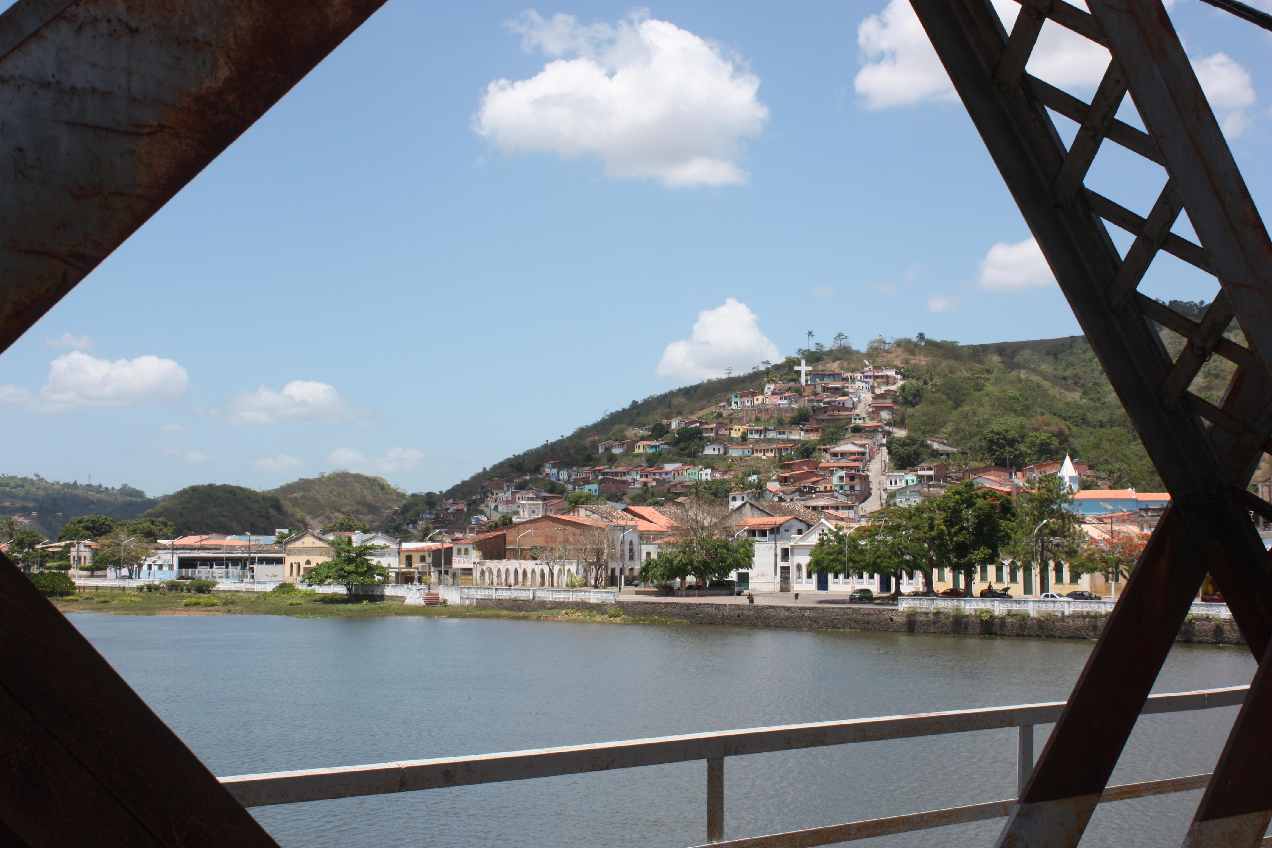 """Vista parcial da """"Cidade Presépio"""""""
