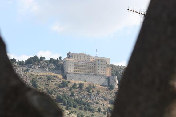 Vista da Terme no Monte Kronio