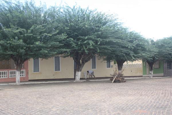 Fachada da primeira casa construída em Jeremoabo