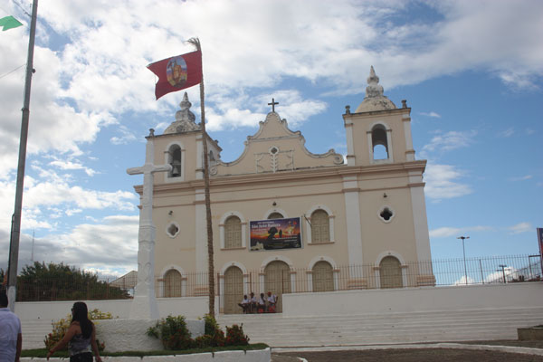 Igreja de São João Batista, padroeiro da cidade