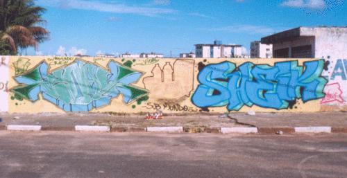 Bombs da dupla Sheik e Vidal em 2002