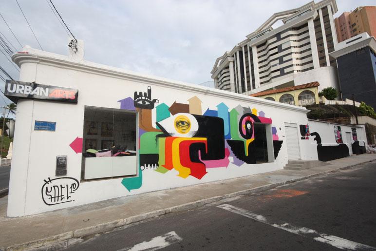 Resultado de imagem para Grafite na fachada